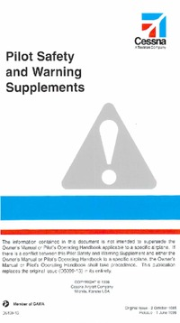 2897 Pilot safety and warning supplement