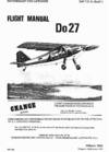 GAF T.O. 1L-Do27-1 Flight Manual Do27