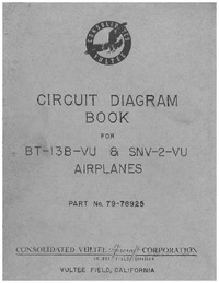 Circuit Diagram Book for BT-13B-VU & SNV-2-VU Airplanes
