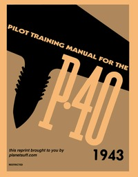 Pilot Training Manual for the P-40