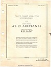 T.O. 01-50KA-1 Pilot's Flight Operating Instructions for AT-19 Airplanes - British model Reliant