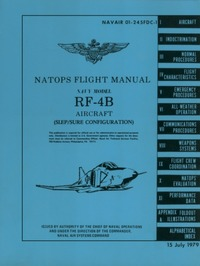 Navair 01-245FDC-1 Natops Flight Manual RF-4B