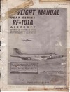 T.O. 1F-101(R)A-1 Flight Manual RF-101A Aircraft