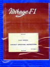 1F-F1K50AZ-1-1 Mirage F1 Flight Manual Aircraft Operating Instructions