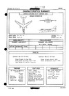 3167 A3D-2 Skywarrior (Cleft Wing) Characteristics Summary - 1 October 1961
