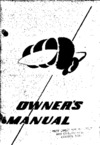 RC-3 Seabee Owner manual