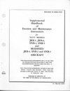 NAVAER 01-90KA-502 Supplemetal handbook of Erection and Maintenance Instructions for JRB-5, -6, SNB=4, -5