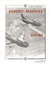T.O. NATO 1RF-G91-R4-2-1 Technical Manual Organizational Maintenance General Airplane G91-R4