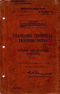 A.P. 3042 Standard Technical Training Notes - Flight Mechanics - Engine