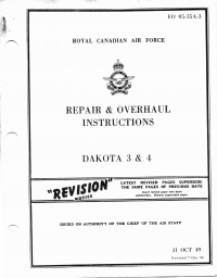EO05-35A-3 Repair & Overhaul Instructions Dakota 3 & 4
