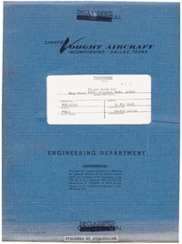 Preliminary Flight Guide for Model F8U-3 Airplane
