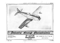 F-47N Thunderbolt Standard Aircraft Characteristics - 17 May 1950