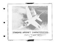 3360 F11F-1 Tiger Standard Aircraft Characteristics - 30 June 1957