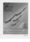 T.O. 1F-104A-1 F-104A,B,C &D Flight Manual