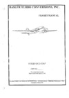 Basler DC-3 TP-76 Flight Manual