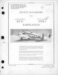 AN 01-90KC-1 Pilot's Handbook for AT-11 and SNB-1 Airplanes
