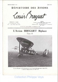 L'avion Breguet Biplace Type 33