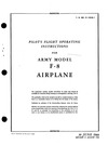 T.O. 01-150JA-1 Pilot's Flight Operating Instructions for Army F-8 Mosquito Airplane