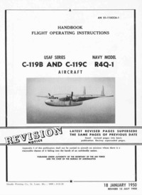 AN 01-115CCA-1 Flight operating Instructions C119B - C-119C and R4Q-1