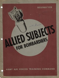 Allied Subjects for Bombardiers