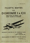 A.P. 1763 A&B Pilot's Notes for Dominie I & CII