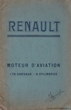 Renault - Moteur d'aviation - 170cv - 8 Cylindres