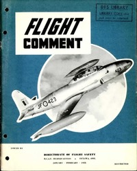 RCAF Flight comment 1955-1
