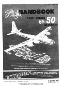T.O. 1B-50(K)-1 Flight Handbook KB-50 Aircraft
