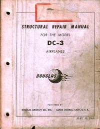 Structural Repair Manual for the model DC-3