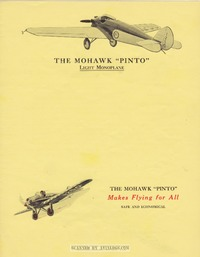 Brochure Mohawk Pinto