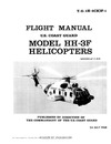 T.O. 1H-3(H)F-1 Flight Manual Model HH-3F Helicopters Pelican