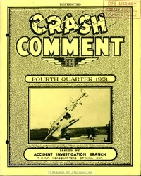 Crash Comment 1951-3