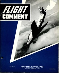 RCAF Flight comment 1956-1
