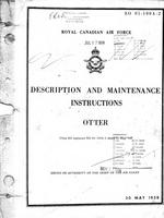 EO 05-100A-2 RCAF Description and Maintenance Instructions Otter