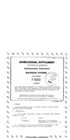 T.O. 1F-100D(I)-2-65-10 Operational Supplement Electrical Systems F-100D