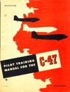 Pilot Training manual for the C-47