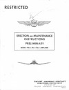 Report 5562 - Erection and Maintenance Instructions Preliminary Model F4U-1,FG-1, F3A-1 Airplanes