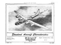 KB-29P Superfortress Standard Aircraft Characteristics - 8 March 1951