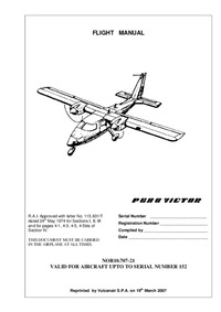 Flight Manual P-68B Victor