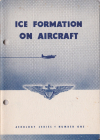 Aerology series - Number 1 - Ice formation on aircraft