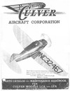 Culver Parts Catalog and Maintenance Handbook for Culver Models LCA and LFA