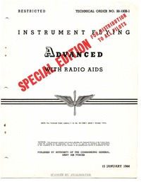 T.O. 30-100B-1 Instrument Flying Advanced with Radio Aids