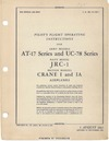 T.O. 01-125-1 Pilot's flight operating instructions AT-17 Series and UC-78 Series - Navy model JRC-1