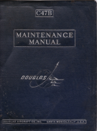 Douglas C-47B Maintenance manual