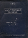 Douglas C-47B Maintenance manual