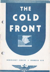 Aerology series - Number 6 - The cold front