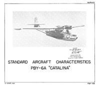 PBY-6A Catalina Standard Aircraft Characteristics - 15 August 1948