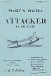 AP 4302A & B Pilot's Notes Attacker F1,FB1 & Fb2 - 2nd edition