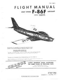 T.O. 1F-86F-1 Flight Manual F-86F