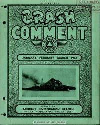 Crash Comment 1951 - 1